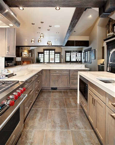kitchen flooring trends  hunker