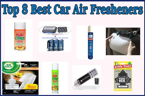 Top 8 Best Car Air Fresheners [recommendations]