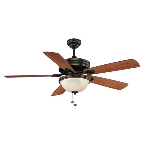 shop litex 52 in bronze downrod mount indoor ceiling fan