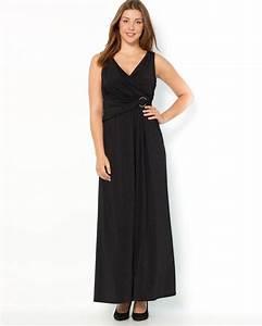 robe longue noire taille 48 robes de soiree site blog photo With robe de soirée taille 48