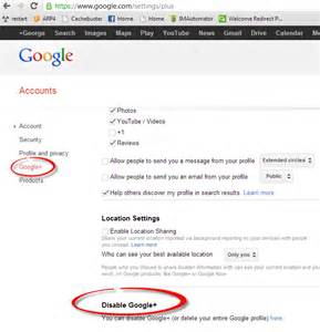How to Delete Google Plus Account