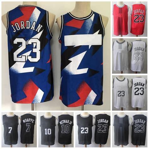 Wasx children men's football jersey, mbappé no. 2021 NEW 2020 2021 Jersey 23 Michael 7 MBAPPE Basketball ...