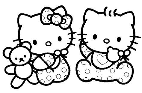 dessins de hello 224 colorier