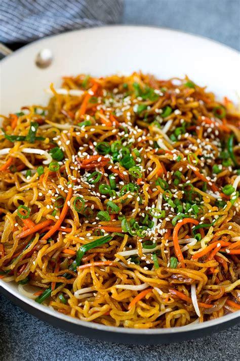 pan fried noodles dinner   zoo