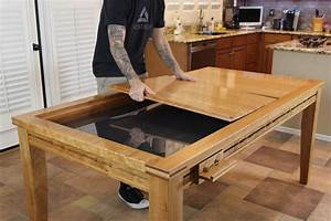 Gaming Dining Table – The Wood Whisperer Guild
