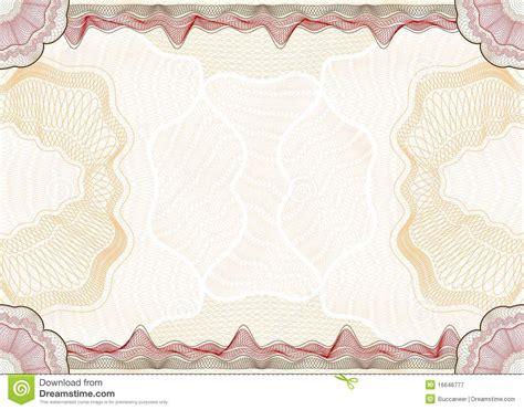 guilloche pattern stock vector illustration  banknote