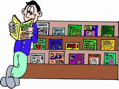 Magazines Magazine Reading Clipart Library Clip Read