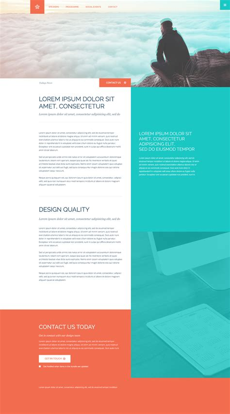 free psd website templates free psd website template column