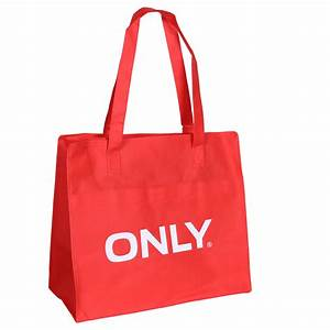 Only Shopping Bag : only logo shopping bag damen tasche rot wei 519618 bei ~ Watch28wear.com Haus und Dekorationen