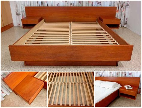 diy king size floating platform bed plans tcworksorg