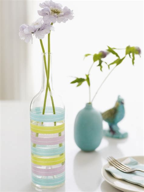 how to decorate vase how to decorate your plain glass vase and make it look