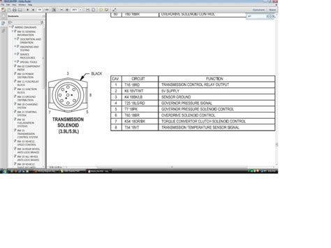 Dodge Transmission Wiring Diagram Library