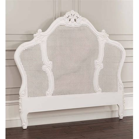 Louis Xv Rattan Antique French Headboard Will Look
