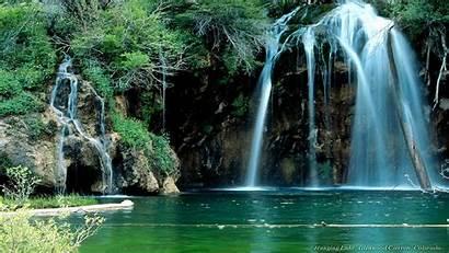 1080p Wallpapers Waterfall Nature Amazing Lake Landscape