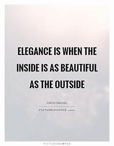 Classy Women Qu... Outside Beauty Quotes