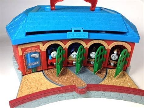 thomas and friends trains in the tidmouth shed