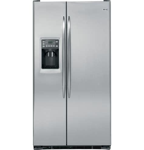 ge profile ge profile 24 6 cu ft side by side refrigerator