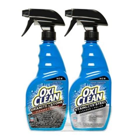 shop oxiclean 2 pack 16 fl oz granite cleaner at lowes