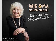 Lustiger Spruch mit Oma SprücheSuche