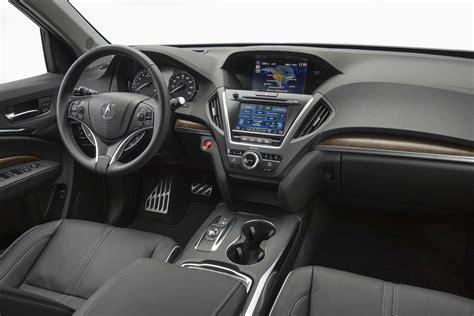 acura mdx hybrid interior view  motor trend en