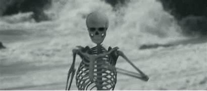 Skeleton Gifs Spooky Wild Hogge