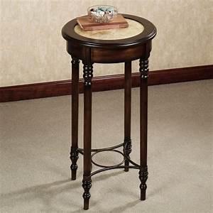 Entryway Round Table Tall Home Design Solid Wooden