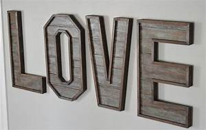hometalk pallet wood letters With pallet wood letters