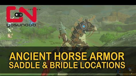 botw armor horse ancient zelda saddle locations dlc bridle champions ballad