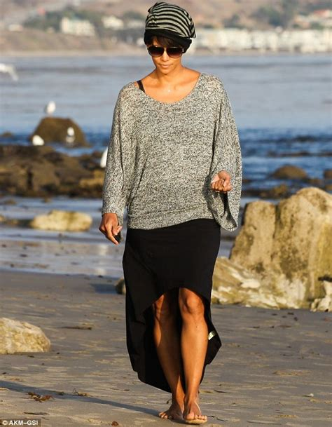 Halle Berry Looks Sensational Less Than Four Months After