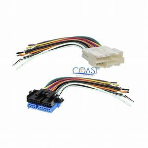 Car Stereo Radio Wiring Harness Combo For 1988