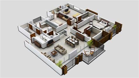 3 bedroom house blueprints 25 three bedroom house apartment floor plans