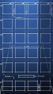 iPhone 5/S, iOS 7 Blueprint Wallpaper (640x1136) by ...