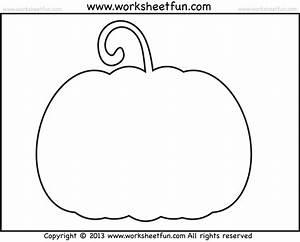 Printable, Pumpkin, Outline