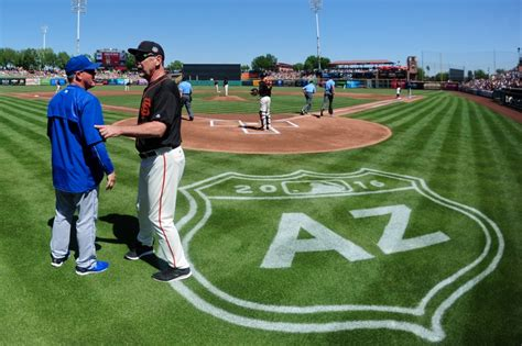 san francisco giants release spring training schedule