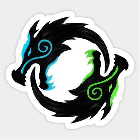 hoodie genji overwatch shimada dragons overwatch sticker teepublic