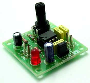 Stepper Pulse Generator Circuit Diagram World