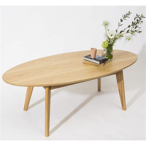 soldes canapé table basse scandinave ovale skoll by drawer