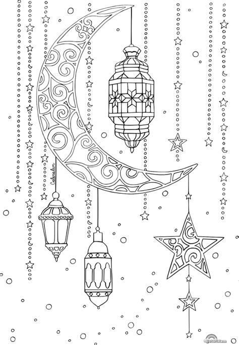 printable colouring pages  ramadan fujairah observer
