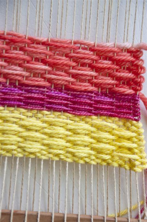 weaving techniques weaving small diamonds  weaving