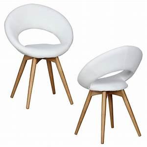 Weiße Stühle Mit Armlehne : wohnling 2x linda esszimmerstuhl skandinavisch sitz real ~ Bigdaddyawards.com Haus und Dekorationen