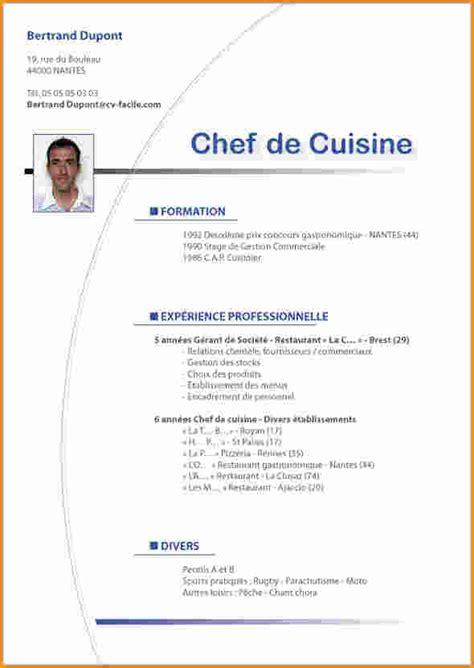emploi chef de cuisine demande d emploi chef de cuisine 28 images lettre de