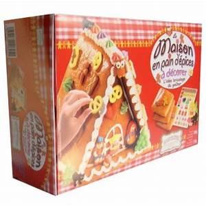 Kit Maison En Pain D Épice : kit 39 39 la maison en pain d 39 pices d corer 39 39 pour l 39 anniversaire de votre enfant annikids ~ Nature-et-papiers.com Idées de Décoration