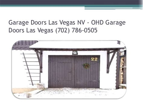 Garage Door Las Vegas by Las Vegas Garage Door Repair