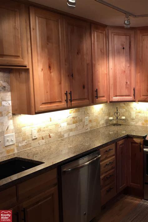 natural rustic alder cabinets knotty alder cabinets natural stain kitchen cabinets
