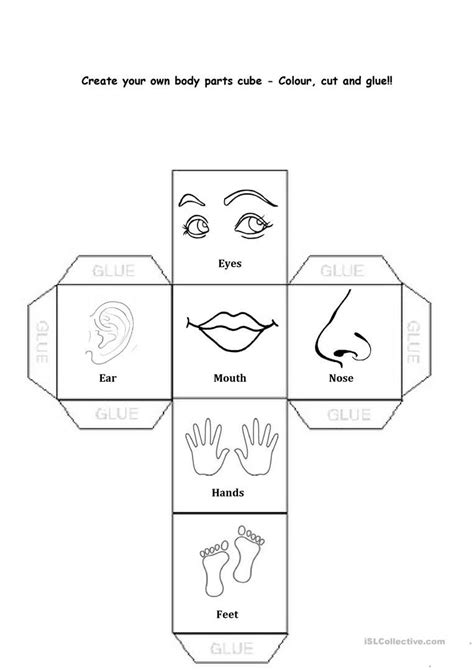 body parts worksheet free esl printable worksheets made