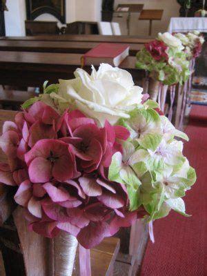 blumenschmuck hochzeit hortensien kirchenschmuck wedding flowers kirchenschmuck hochzeit kirchendeko hochzeit und