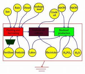 Emergy Flow Diagram Of Soybean