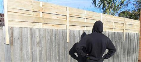 fence screens extension bunnings panels  melbourne