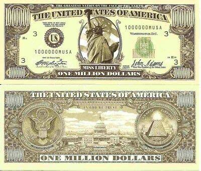 Million Billion Trillion Zillion American Dollar Bills Set ...