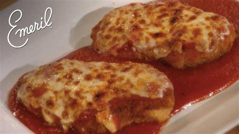 classic italian chicken parmigiana recipe emeril s classic dishes emeril lagasse